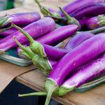 Japanese Eggplant Recipe With a Tomato, Olive and Feta Relish