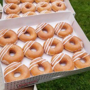 Krispy Kreme's Classic Glaze Now Stuffed With Cream Filling