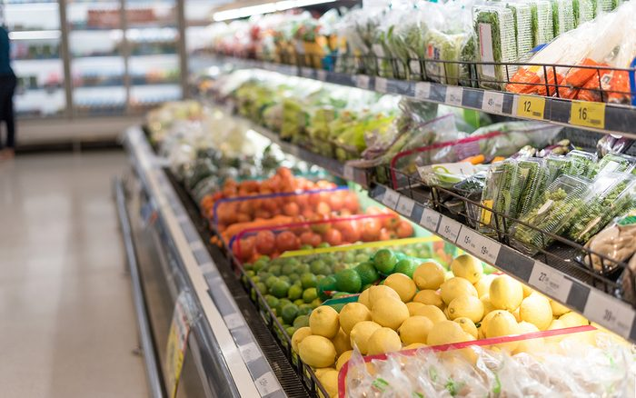 fruit and vegetable zone