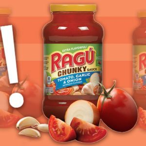 A Whole Lot of Ragu Pasta Sauce Is Recalled Because It May Contain Bits of Plastic
