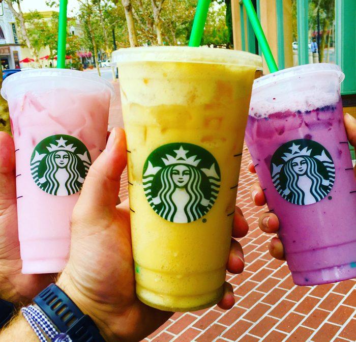 Secret drinks from Starbucks