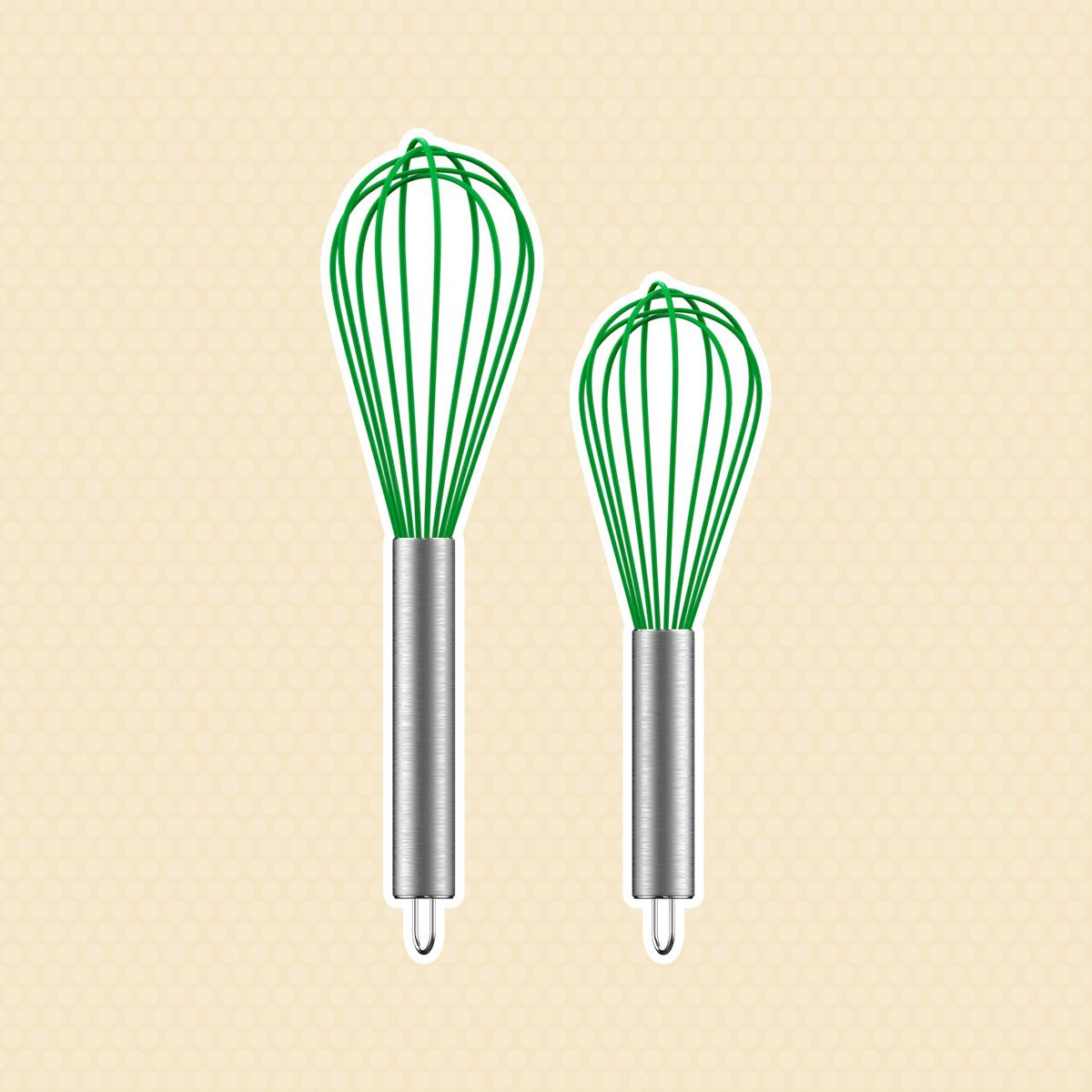 Silicone whisk