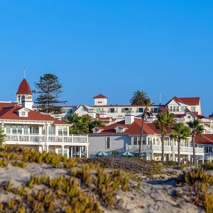 Victorian Hotel del Coronado on September 28, 2014 in San Diego, USA.