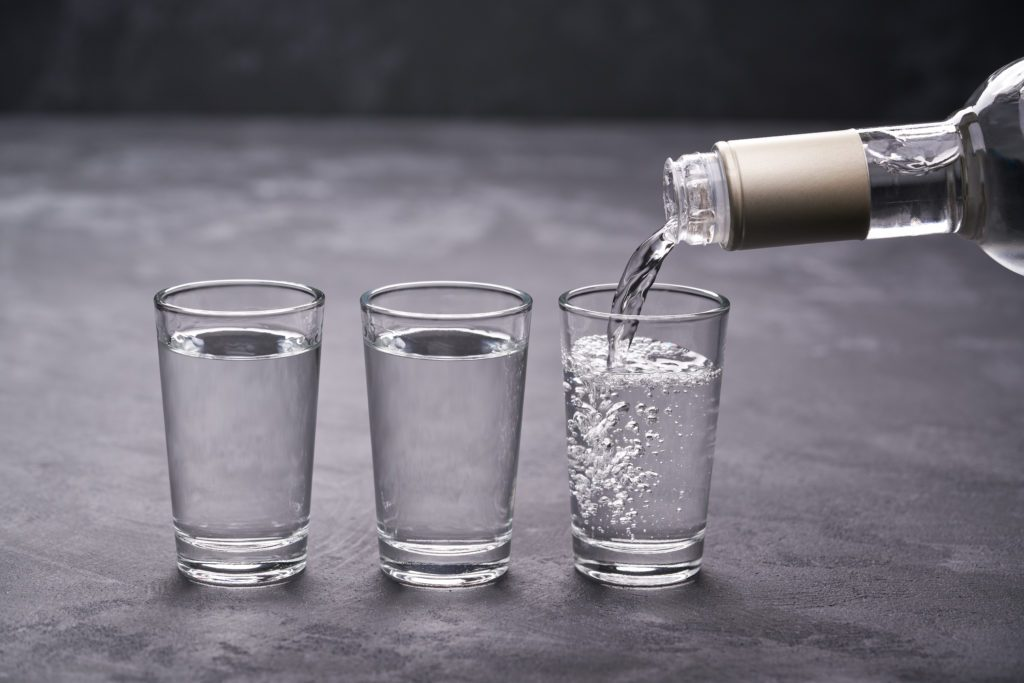 Why Doesn't Vodka Freeze?