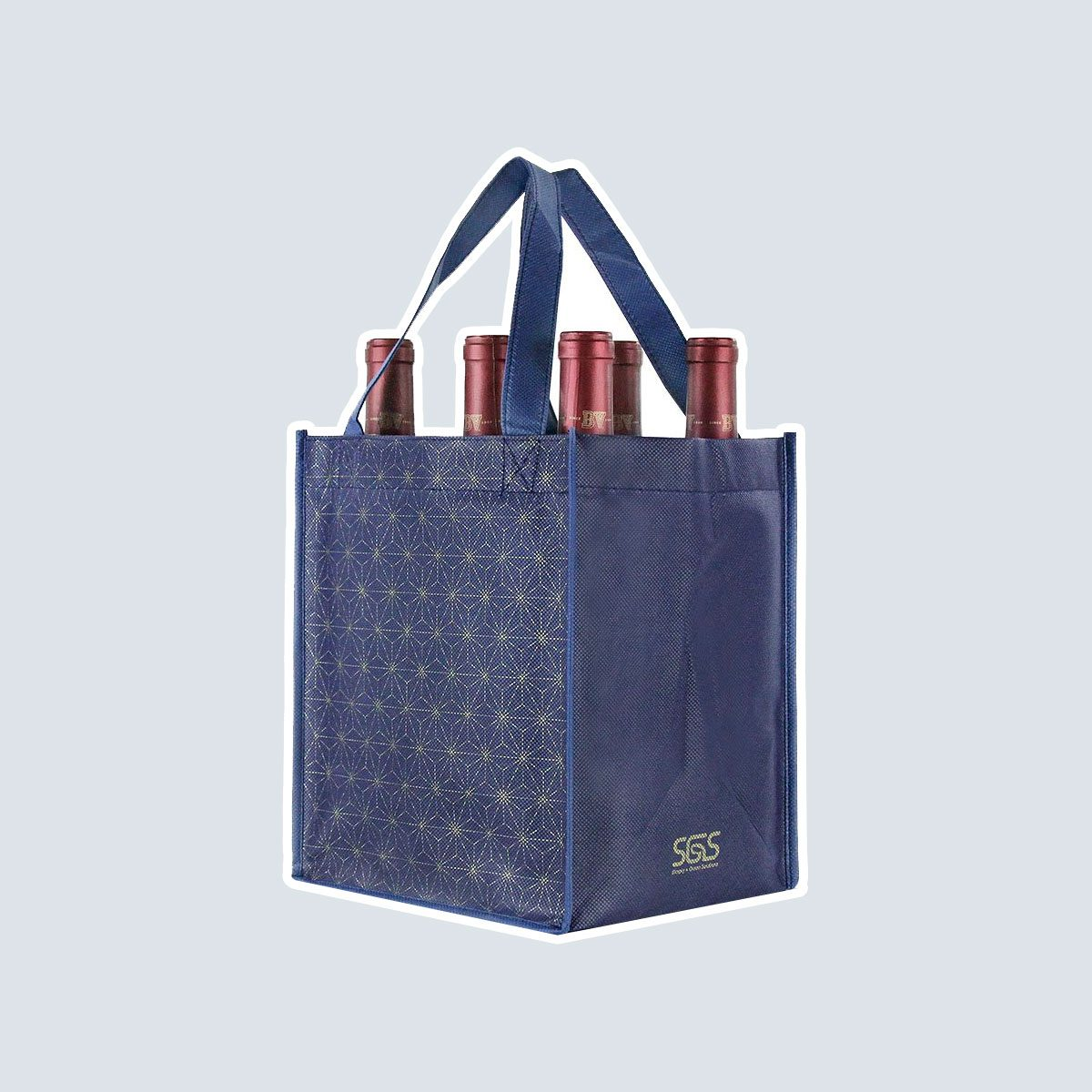 Reusable Wine Tote Bags