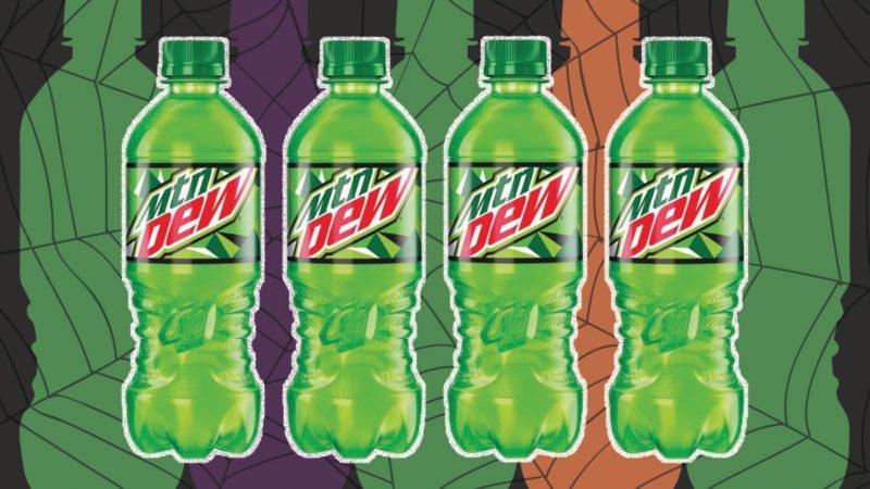 mountain dew mystery flavor