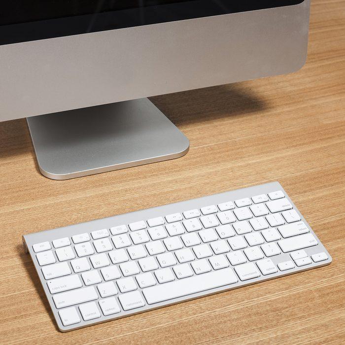 Computer and keyboard
