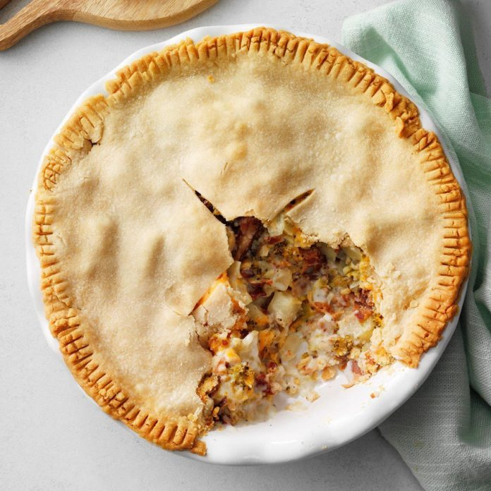 Runner Up: Bacon Pot Pie