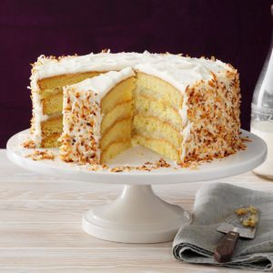Coastal Coconut Cream Cake