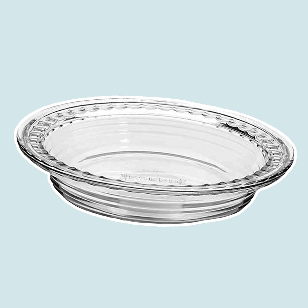 Anchor Hocking® Baked by Fire King Deep Pie Dish with Fluted Edge
