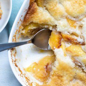 How to Make Gluten-Free Peach Cobbler