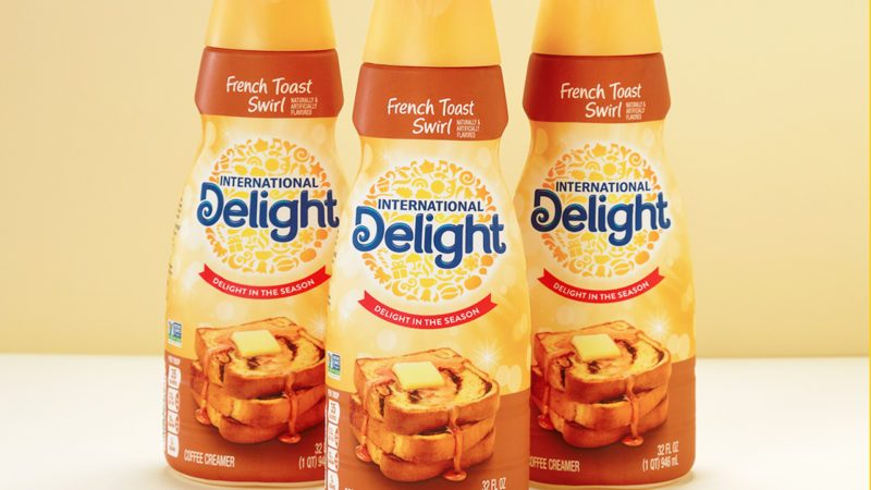 International Delight's French Toast Swirl Coffee Creamer