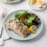 Lemon-Dijon Grilled Salmon Foil Packet