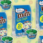 M&M's Fun Cups Combine Your Favorite Candy with Ice Cream