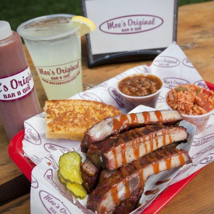 Moe's serves up some finger-lickin' good barbecue