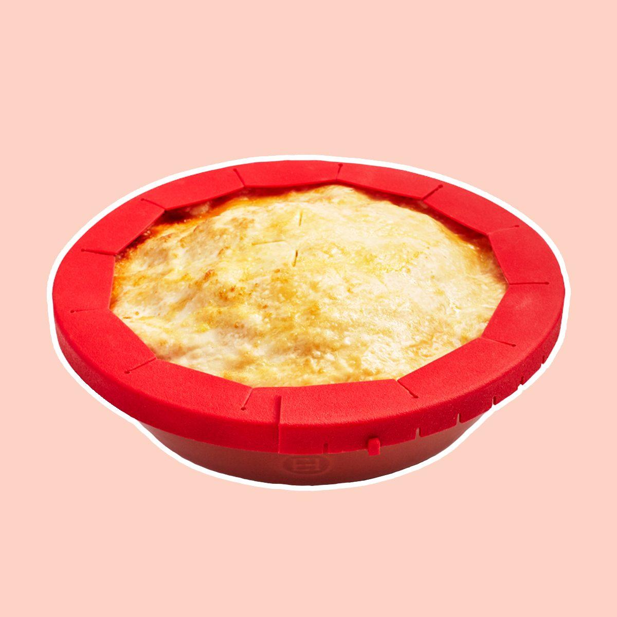 Adjustable Silicone Pie Shield