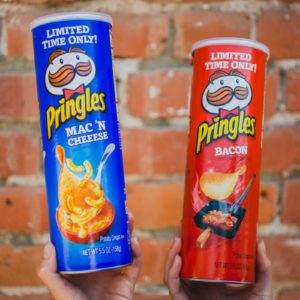 Pringles Debuts New Bacon and Mac 'N Cheese Flavors For Limited Time
