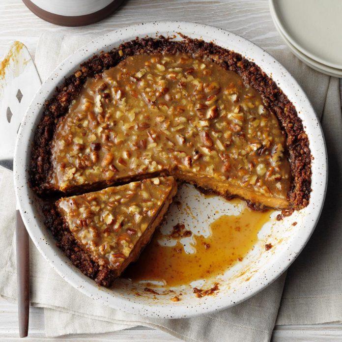 Runner Up: Praline Pumpkin Pecan Pie