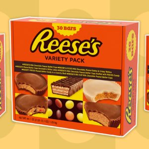 This 30-Count Reese's Variety Pack Is Available at Walmart Right Now!