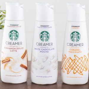 Starbucks Coffee Creamers Are Coming to Your Kitchen This August