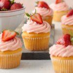 Strawberry Lemon Cupcakes