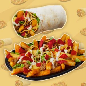 Taco Bell Vampire Steaked Fries