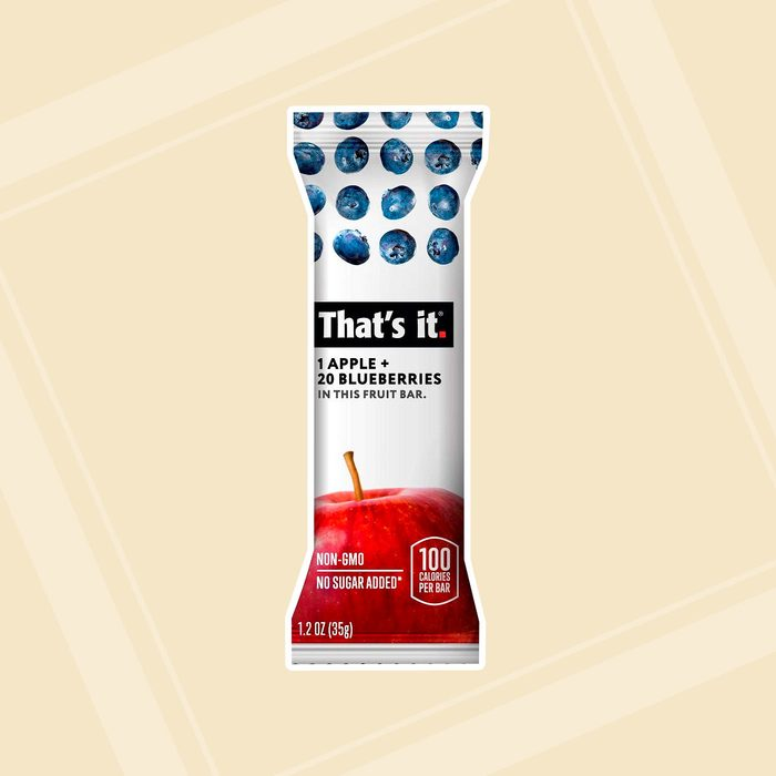 That's it. Apple + Variety 100% Natural Real Fruit Bars