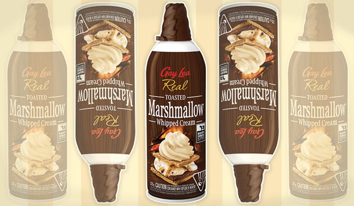 Toasted Marshmallow Whipped Cream