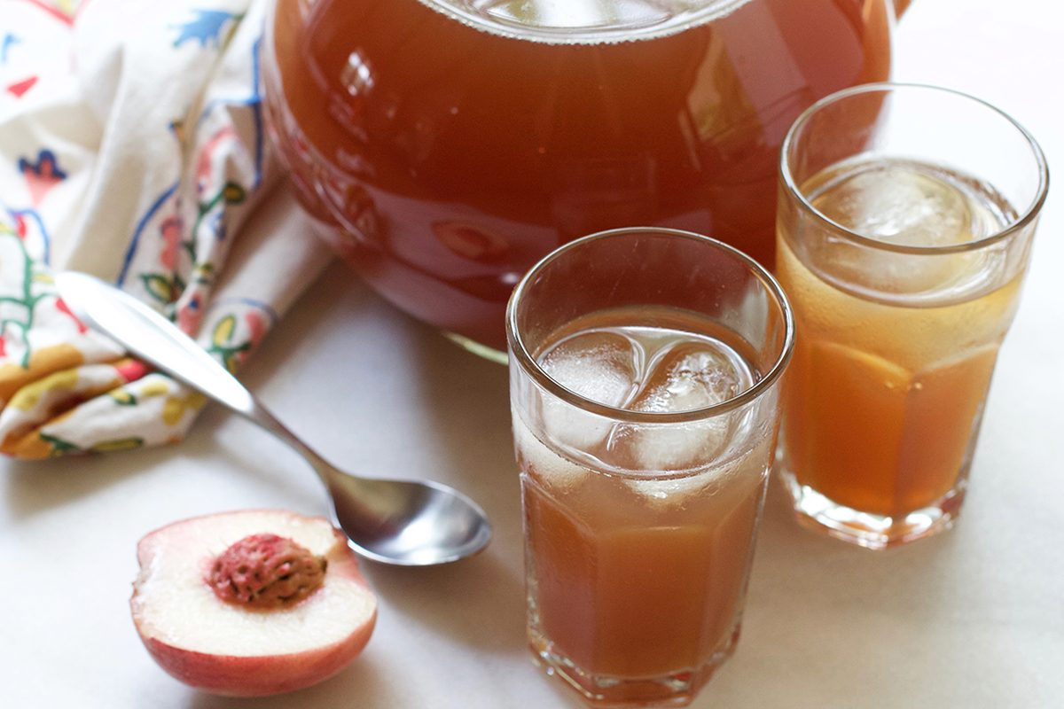 This Is the White Peach Tea Recipe You've Been Waiting For