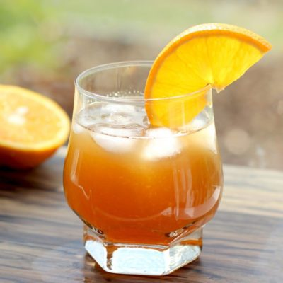 Sweet and Sour Amaretto Orange Cocktail