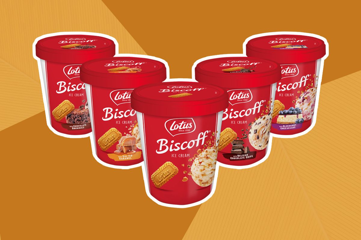 We Tried the Biscoff Cookie Butter Ice Cream at Target—and We're Obsessed