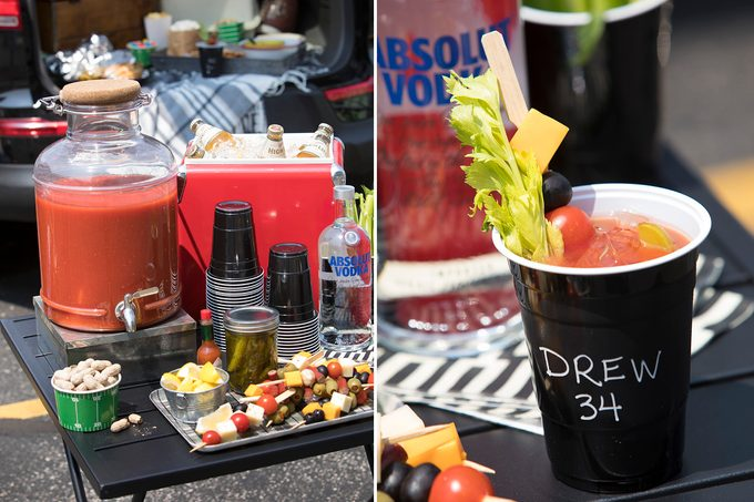 bloody mary bar; tailgate