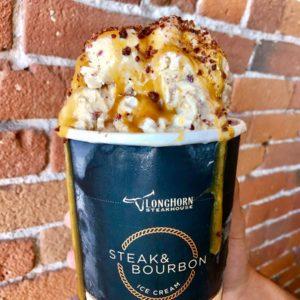 Longhorn Steakhouse Introduces Steak & Bourbon Flavored Ice Cream