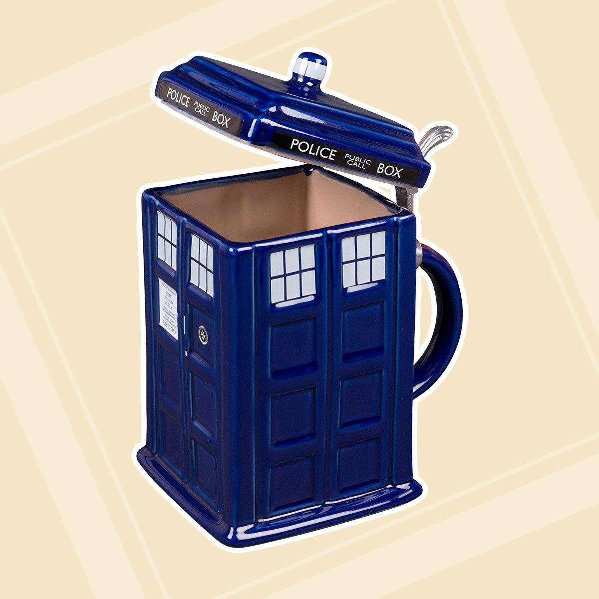 Doctor Who TARDIS Stein