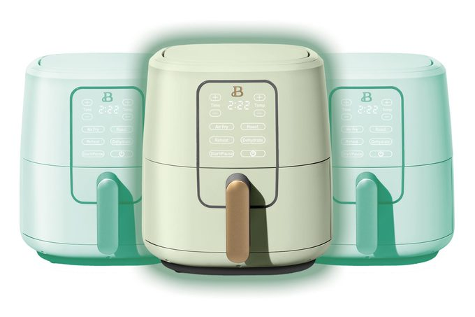 Beautiful Quart Touchscreen Air Fryer, Sage Green by Drew Barrymore
