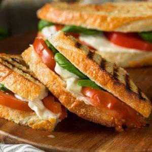 How to Make a Mozzarella, Tomato and Basil Panini Like a Pro