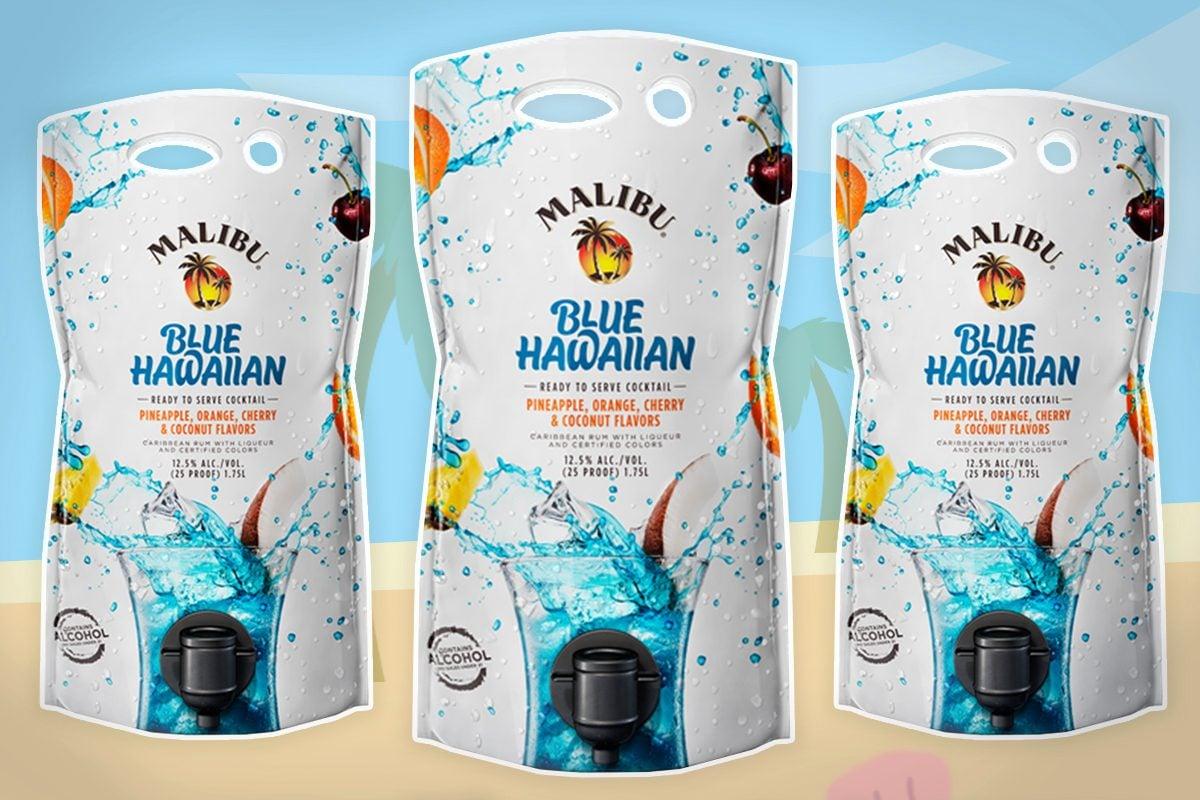 malibu rum cocktails