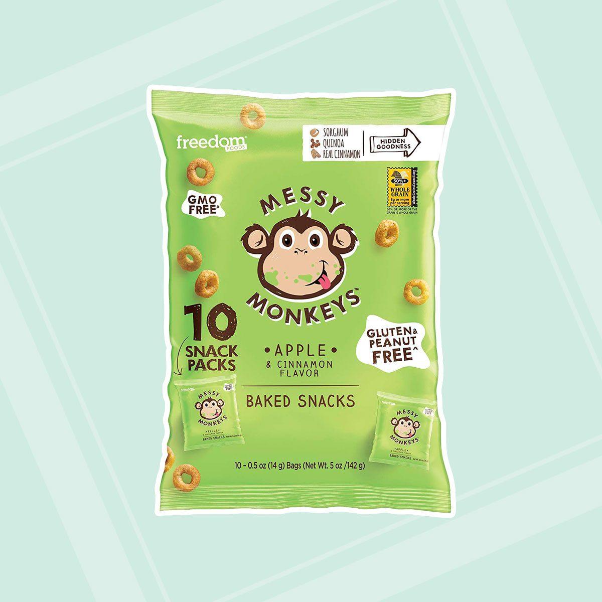 Messy Monkeys Apple & Cinnamon Whole Grain Bites