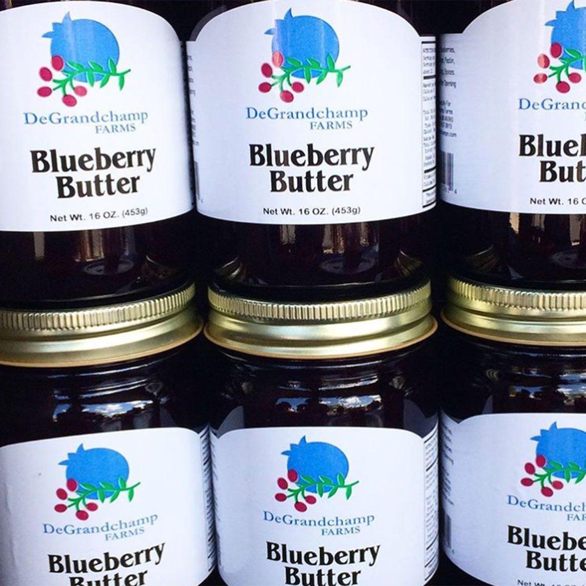 Michigan blueberry butter