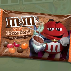 M&M's New Creepy Cocoa Crisp Candies Are Coming for Halloween