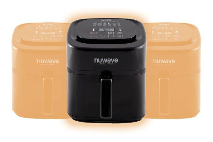 Nuwave Brio 6-Quart Digital Air Fryer with one-touch digital controls