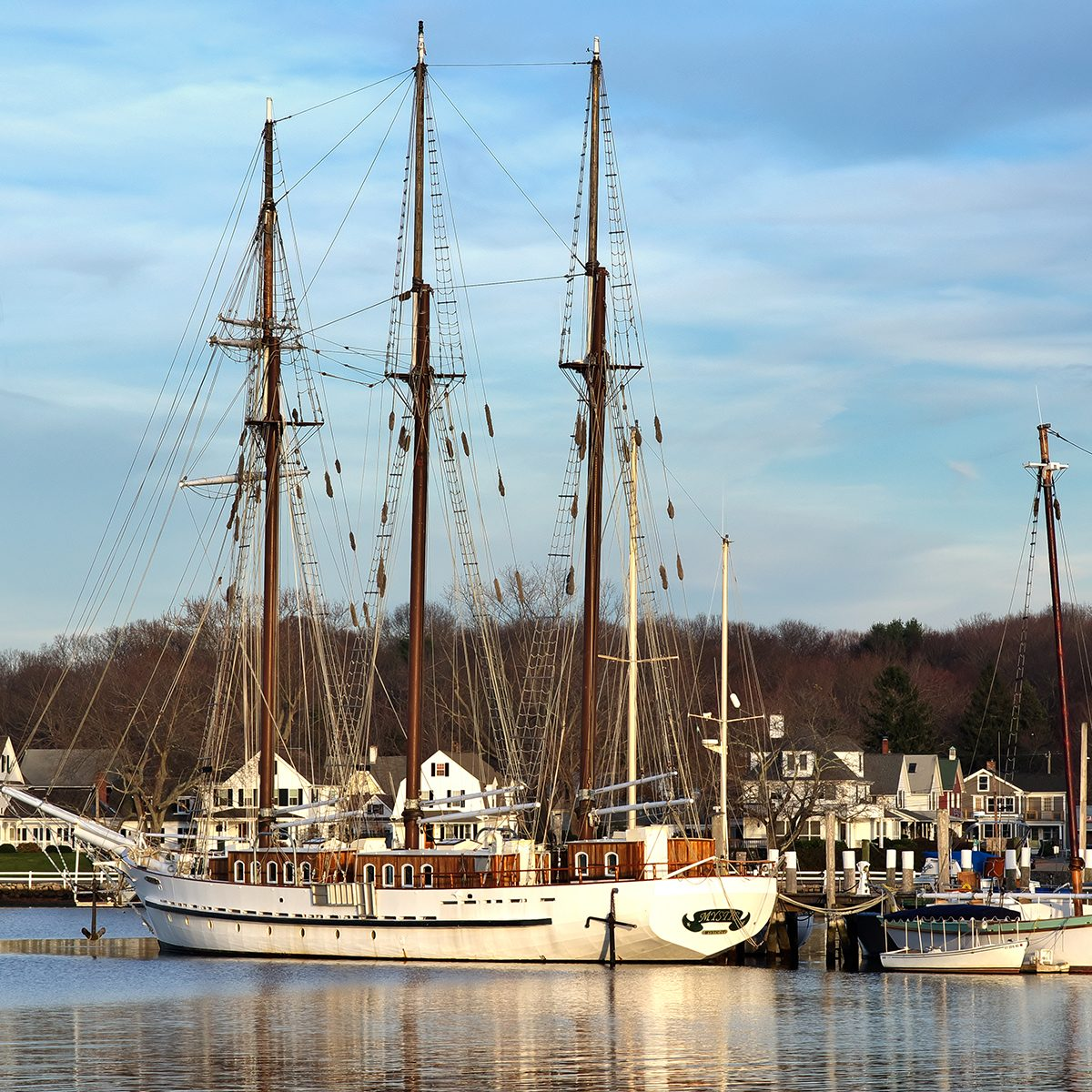 The Old Ship in Mystic Seaport