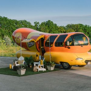 You Can Now Book The Oscar Mayer Wienermobile As an Airbnb