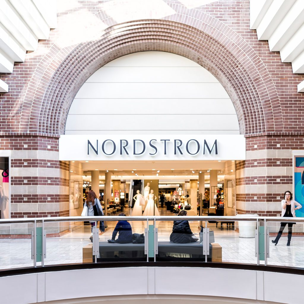 Tysons, USA - January 26, 2018: Nordstrom store sign entrance shop in Tyson's Corner Mall in Fairfax, Virginia by Mclean; Shutterstock ID 1094082470; Job (TFH, TOH, RD, BNB, CWM, CM): Taste of Home