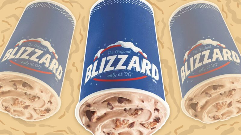 snickers blizzard