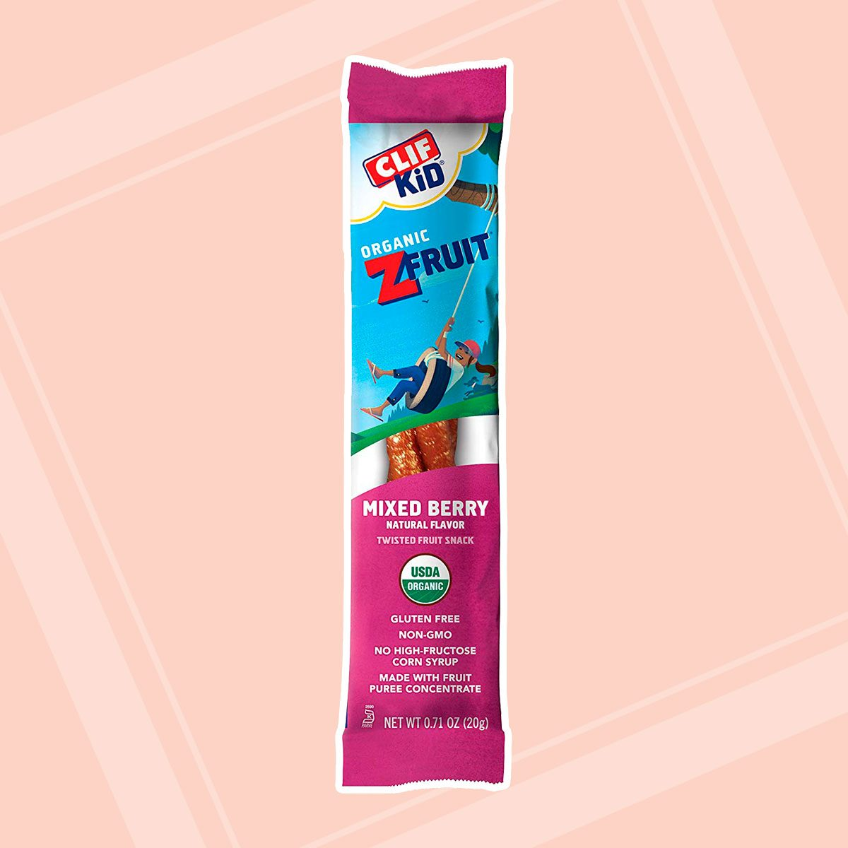 Clif Kid ZFruit Organic Mixed Berry Fruit Rope
