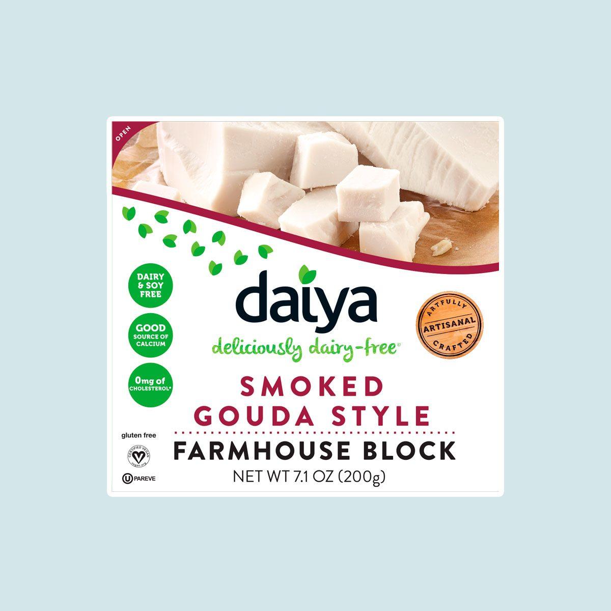 Daiya gouda-style blocks