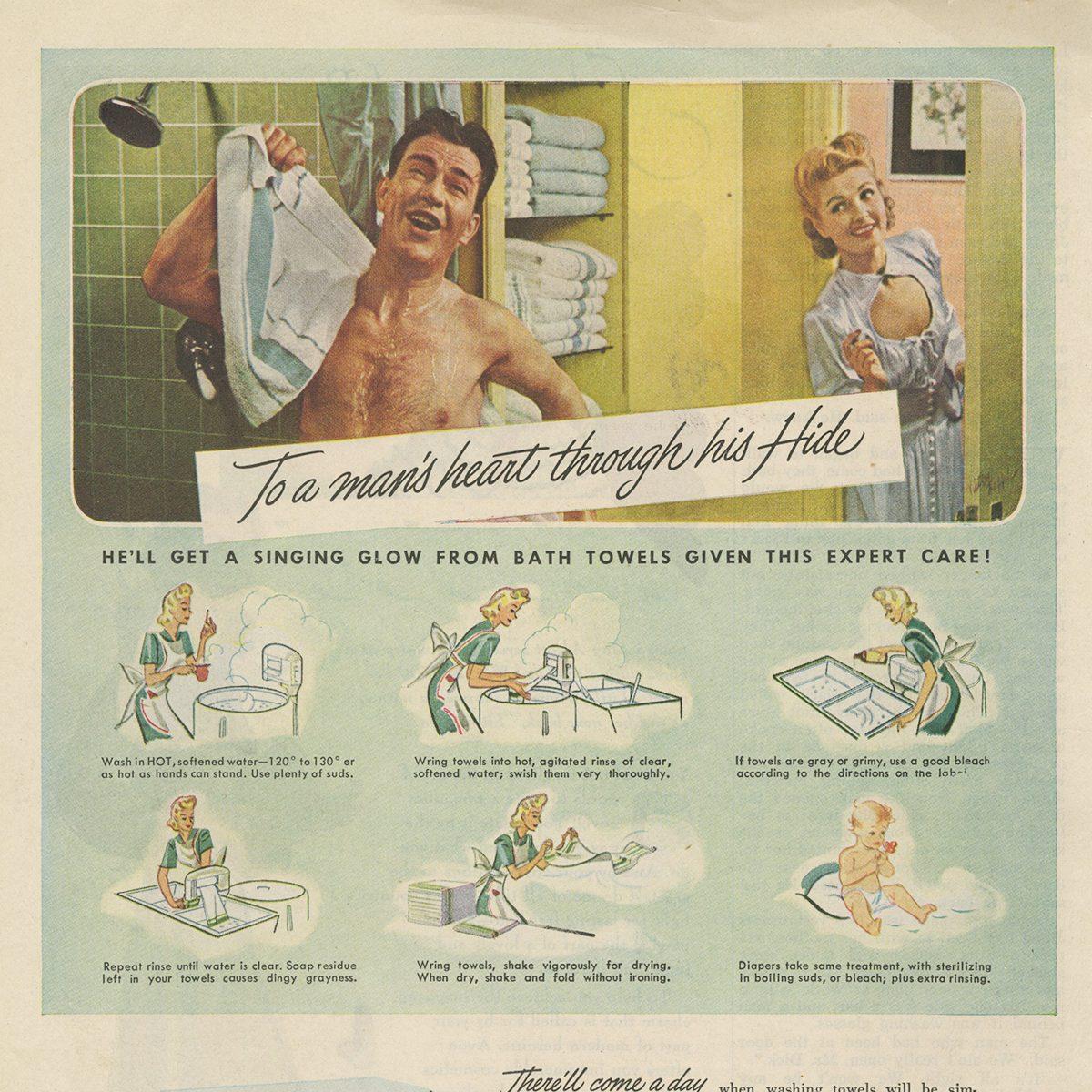 Westinghouse Laundromat ad