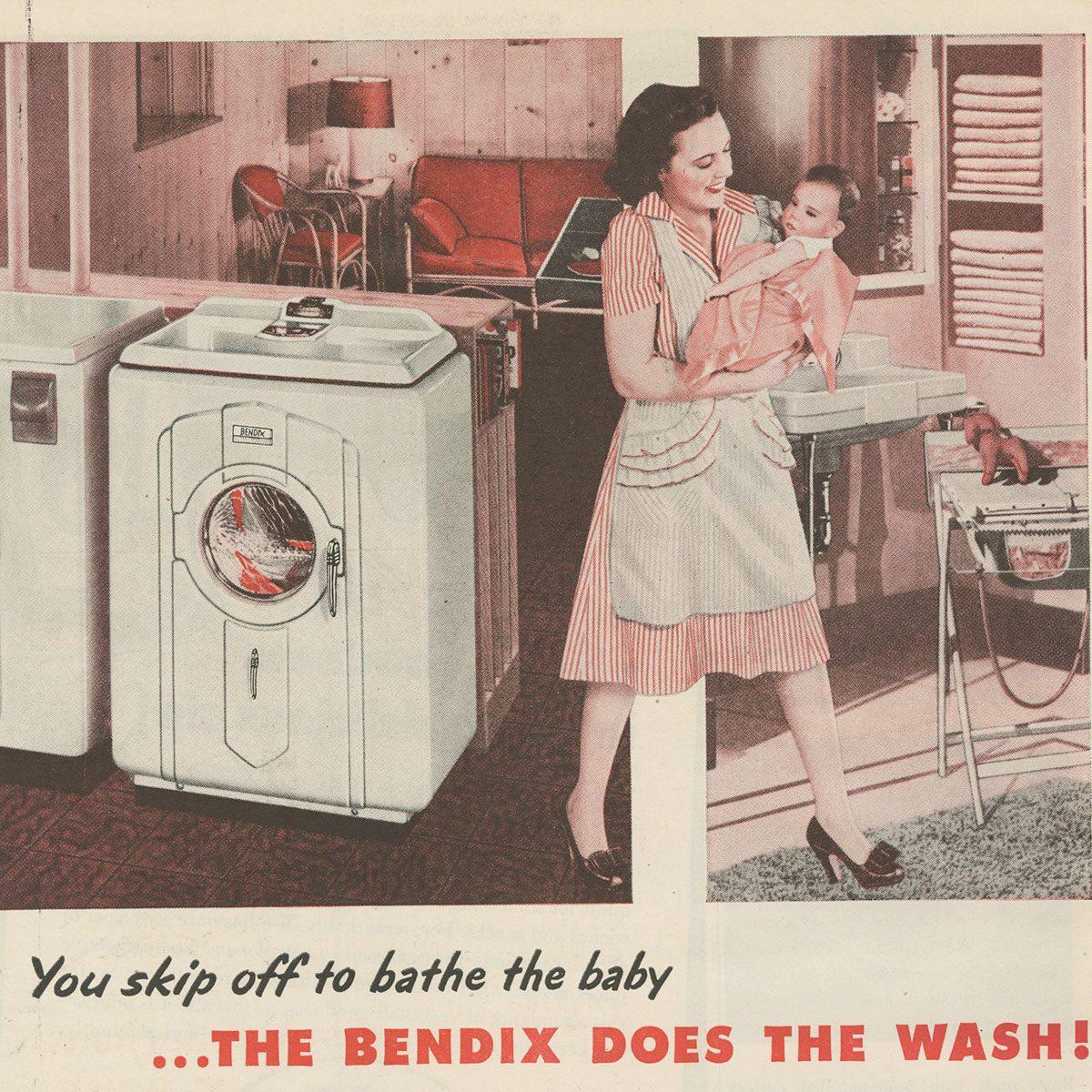 Bendix Washing Machine ad