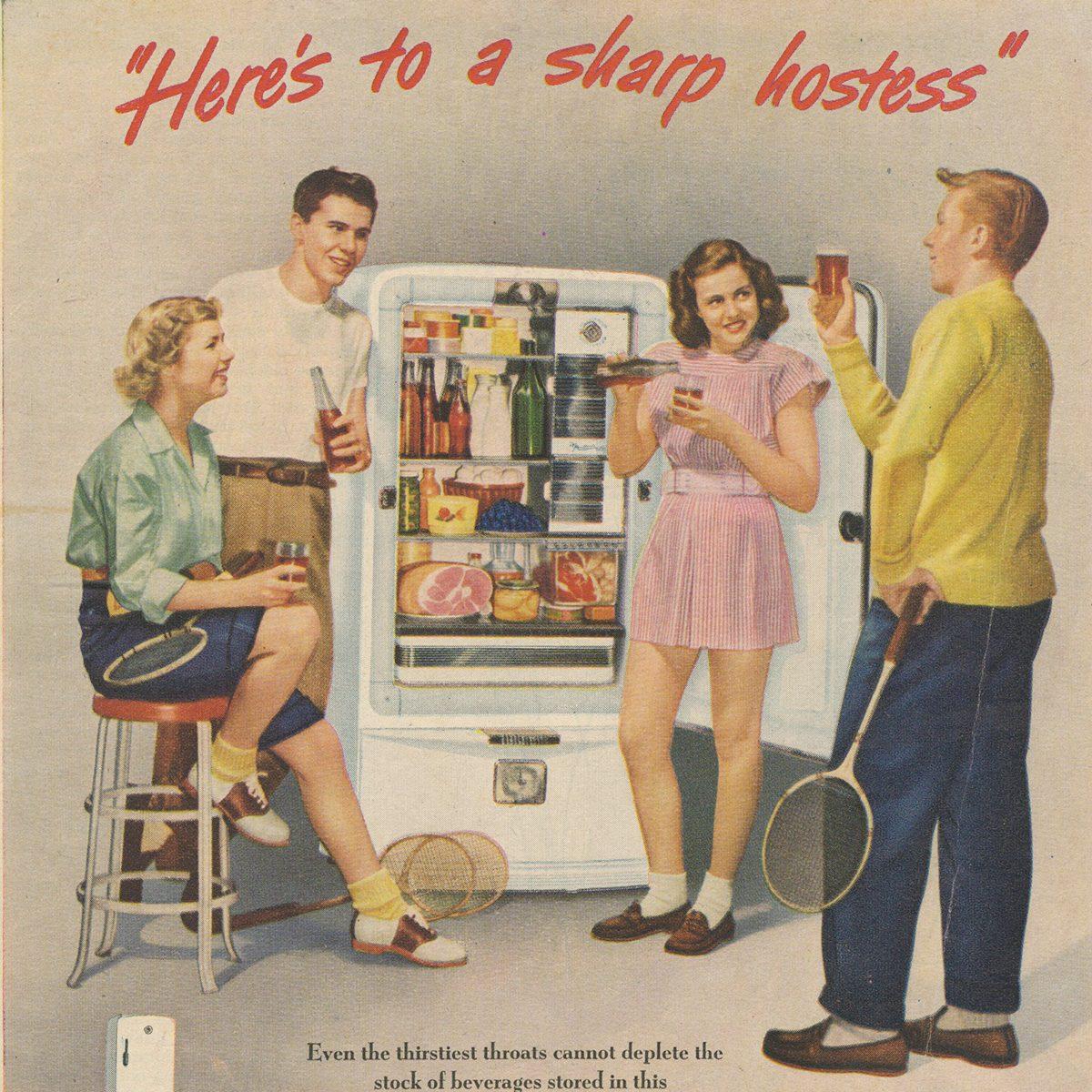 Norge Refrigerator ad